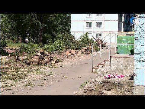 В Великом Новгороде активно идет ремонт дворов