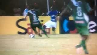 Entrada Criminosa do Arouca - Palmeiras 4 x 1 Vitória da Conquista.