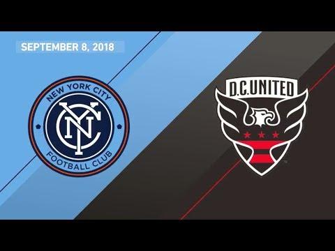 HIGHLIGHTS: New York City FC vs. D.C. United | September 8, 2018