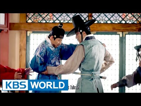 [1Click Scene] Lee DongGun stabs himself with Yeon Woojin's sword! (Queen For Seven Days Ep.16)