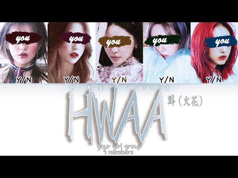 your girl group (5 members) - HWAA 화 (火花) [(G)I-DLE (여자)아이들] | color coded lyrics 너의 여자 그룹