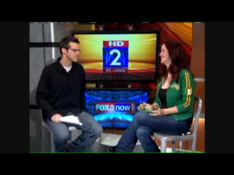Annie Wersching visits FOX 2 St. Louis