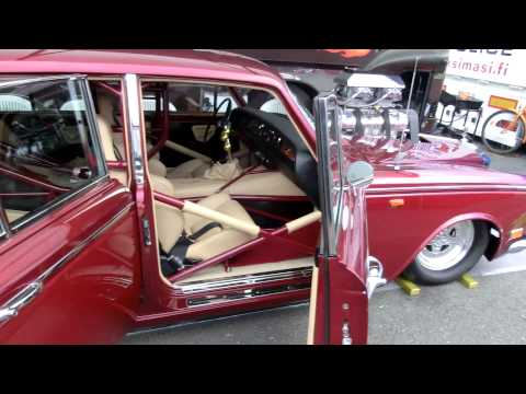 Classic Rolls Royce gets blown V8