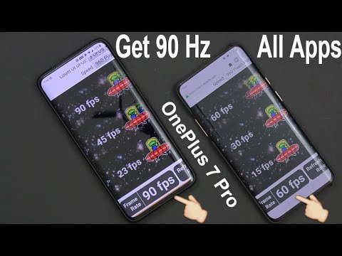 OnePlus 7 Pro No Root Mod: Force 90Hz In All Apps!
