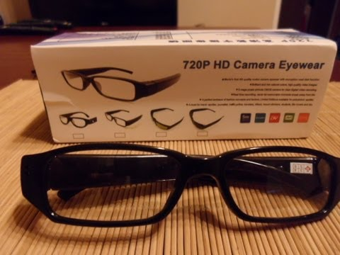 spy - A review of some cheap spy glasses I bought from China on E-bay. They boast 720 HD video quality with the capability to take pictures, as well. I also give i...