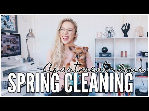 Spring Cleaning + APARTMENT TOUR