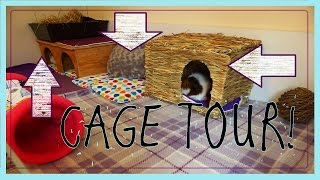 Download Lagu DIY GUINEA PIG CAGE: Cleaning and Cage Tour 2015! Mp3