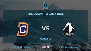 Digital Chaos vs Team Faceless, Game 2, The Summit 6, LAN-Final