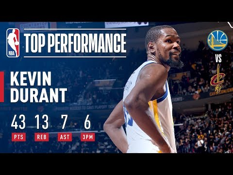 Kevin Durant's EPIC 43 Point Performance In Game 3 | 2018 NBA Finals