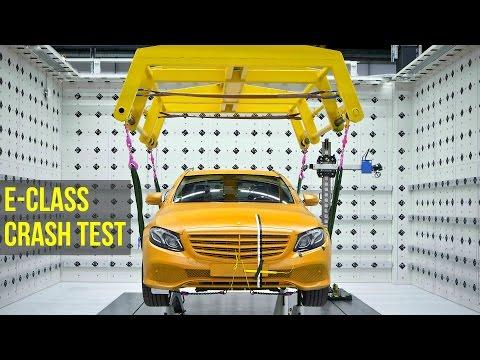Mercedes E-Class Crash Test - Better than 5 Stars