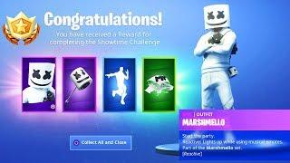The New MARSHMELLO REWARDS in Fortnite..