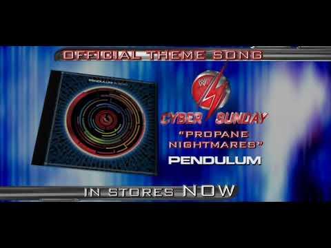 WWE Cyber Sunday 2008 Match Card HD