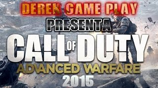 Video Juegos 2015 - Call Of Duty Advanced Warfare 2015 By Derek Game Play - Video (HD)