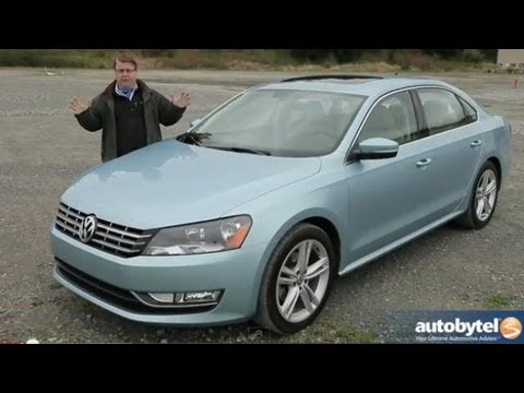2013 Volkswagen Passat V6 SE Midsize Sedan Video Review