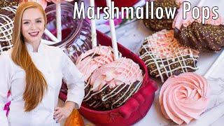 Peach Marshmallow Pops by Tatyana's Everyday Food