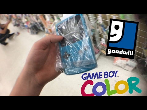 DAILY VLOG 2 - GAMEBOY COLOR AT GOODWILL??