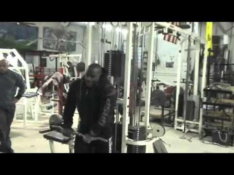 Antrenament Brate Johnnie Jackson 25-Ianuarie-2012 Partea I
