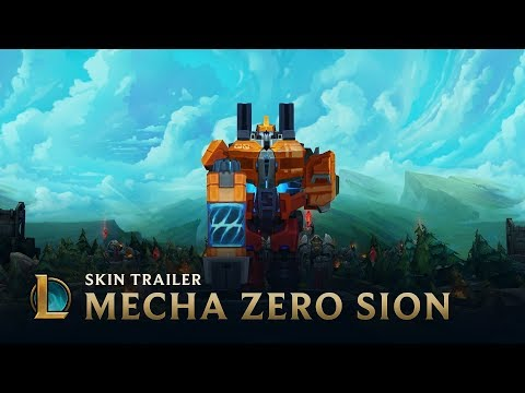 Mecha Zero Sion: Reactivated | Skins Trailer - League of Legends (видео)