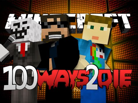 Minecraft 100 Ways To Die | Lemon and Lime Juice Challenge [1] (видео)