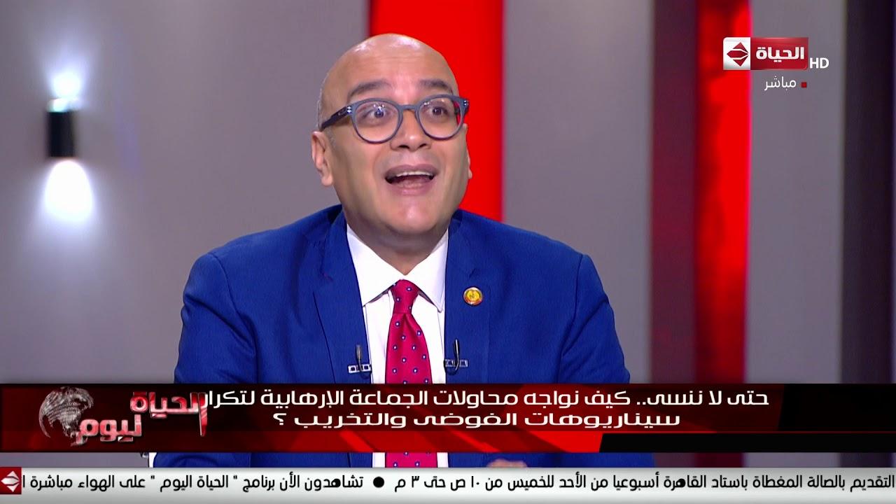 الحياة اليوم - أحمد قمحة: الدولة المصرية أثبتت صلابتها وفضحت مخطط الجماعة أمس في وقت قصير