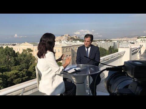 Ο Άδωνις Γεωργιάδης στο euronews