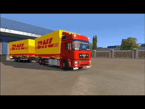 Man F2000 with Trailer 1.26.x