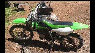 10. My new kawasaki klx125 Dirt bike