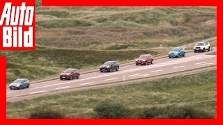 SUV-Vergleich (2016) / Sechs Kompakt-SUVs im Check / Review