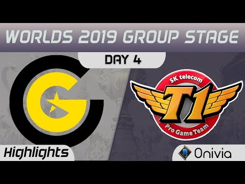 CG vs SKT Highlights Worlds 2019
