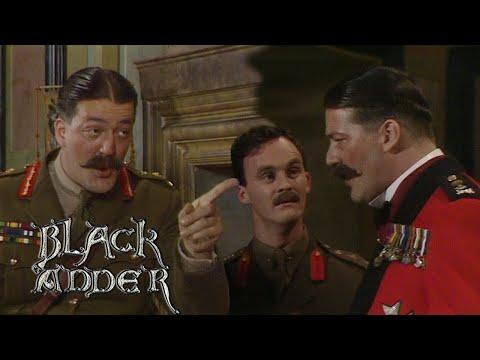 Stephen Fry's Best Bits: Melchett & Duke of Wellington   Blackadder   BBC Comedy Greats