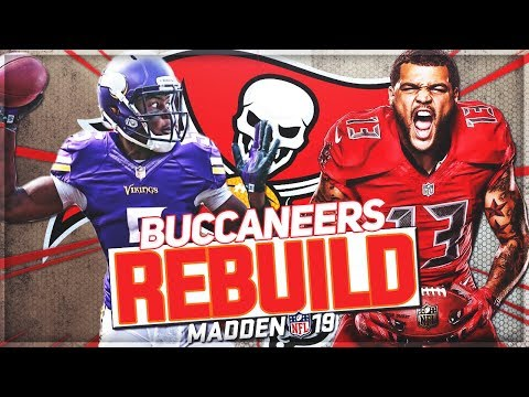Rebuilding The Tampa Bay Buccaneers   Teddy Bridgewater Becomes Franchise QB!   Madden 19 Franchise