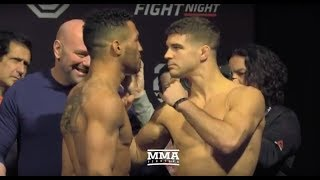 UFC on FOX 31: Kevin Lee vs. Al Iaquinta Weigh-In Staredown - MMA Fighting by MMA Fighting