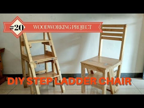DIY Step Ladder Chair