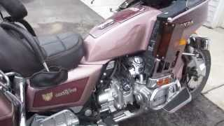 9. 1986 86 HONDA GL1200 1200 GOLD WING ASPENCADE FOR SALE, PARTING OUT ONLY, NOT WHOLE MACHINE!