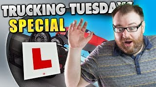 LEARNING TO DRIVE | Trucking Tuesday