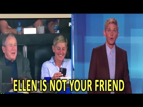 Ellen's Friendship with George Bush PROVES the Rich have Solidarity despite their differences