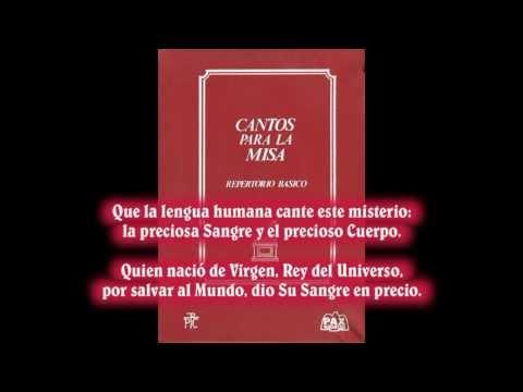 Que la lengua humana (Música: Francisco Palazón) – Canto para la misa (canto de Comunión)