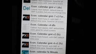 Economic Calendars YouTube video