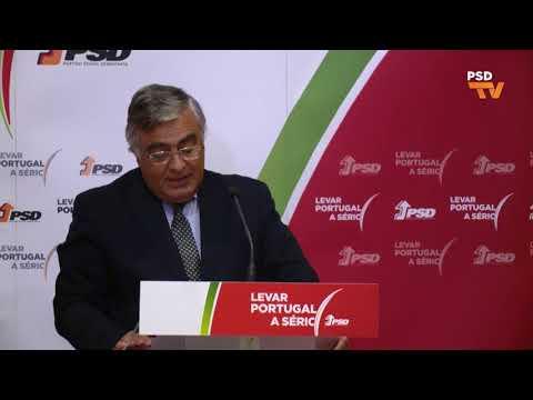 Declarações à Imprensa de José Matos Rosa, Secretário-geral do PSD no Conselho Nacional Extraordinário do PSD