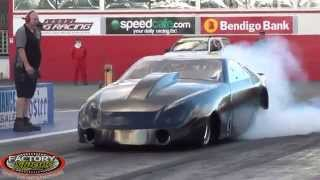 1MRCyprus WORLD RECORD DRAG RACER TURBO 2013