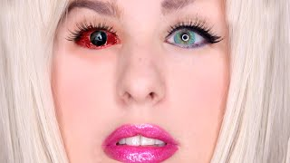 Getting Permanent Eye Color Change Surgery - Going Blind, Regrets & Surgery *Warning Graphic* by GlitterForever17