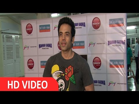 Tusshar Kapoor At Star Studded Premiere Of Mr & Mrs Murari Lal