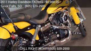 9. 2011 Harley-Davidson FXDWG DYNA WIDE GLIDE for sale in Sioux