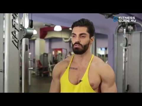 Тренировка мышц груди с Исланом МЕДЖИДОВЫМ