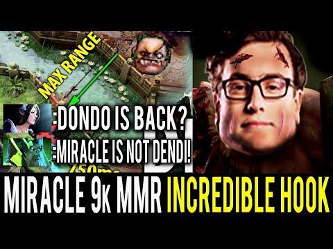 Miracle- Pudge is Back - Too Ez 9k MMR Incredible Hook