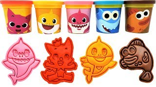 Video Baby Shark Play-Doh Molds & Surprise Toys Pinkfong Learn Colors for Kids MP3, 3GP, MP4, WEBM, AVI, FLV Juni 2019