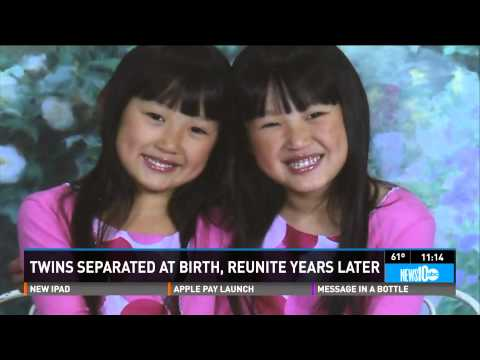 Twins From China Separated At Birth Are Reunited Years Later