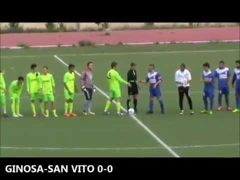 Preview video <strong>GINOSA-ATL. AZZ. SAN VITO 3-0 Con un convincente secondo tempo arriva la prima vittoria stagionale</strong>