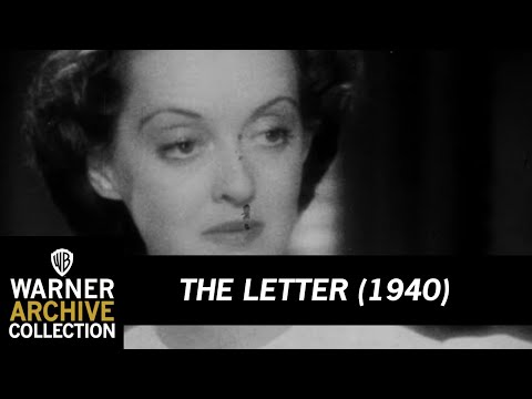 The Letter (1940) HD Trailer