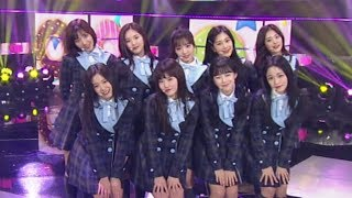 《ADORABLE》 fromis 9(프로미스나인) - To Heart @인기가요 Inkigayo 20180204